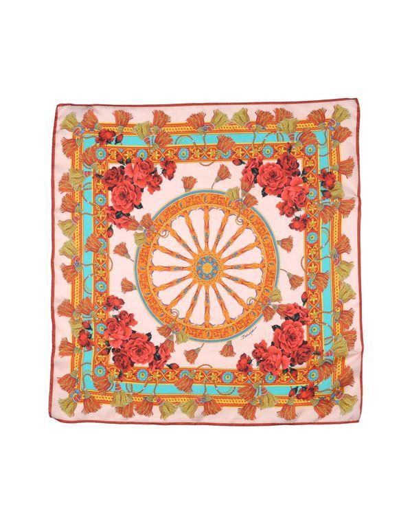 粉红色 DOLCE & GABBANA 方巾