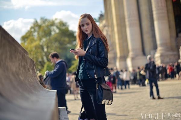 2015春夏巴黎时装周街拍日记Day 3