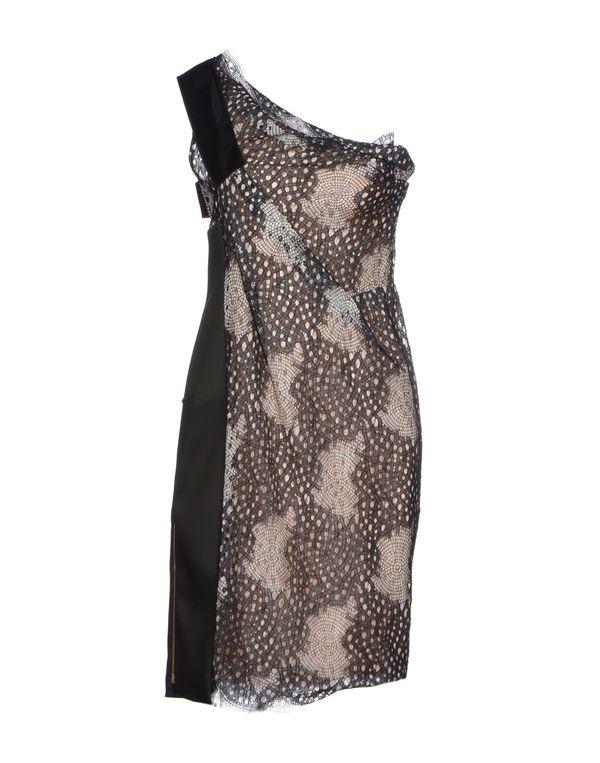 黑色 ROLAND MOURET 短款连衣裙