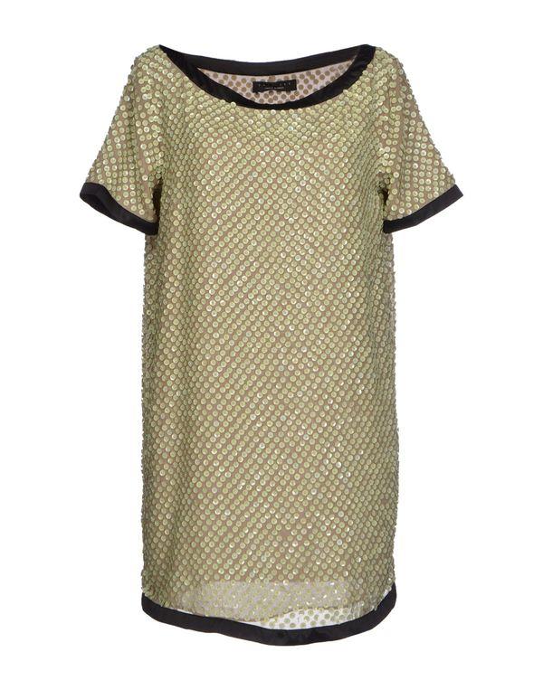 浅绿色 TWIN-SET SIMONA BARBIERI 短款连衣裙