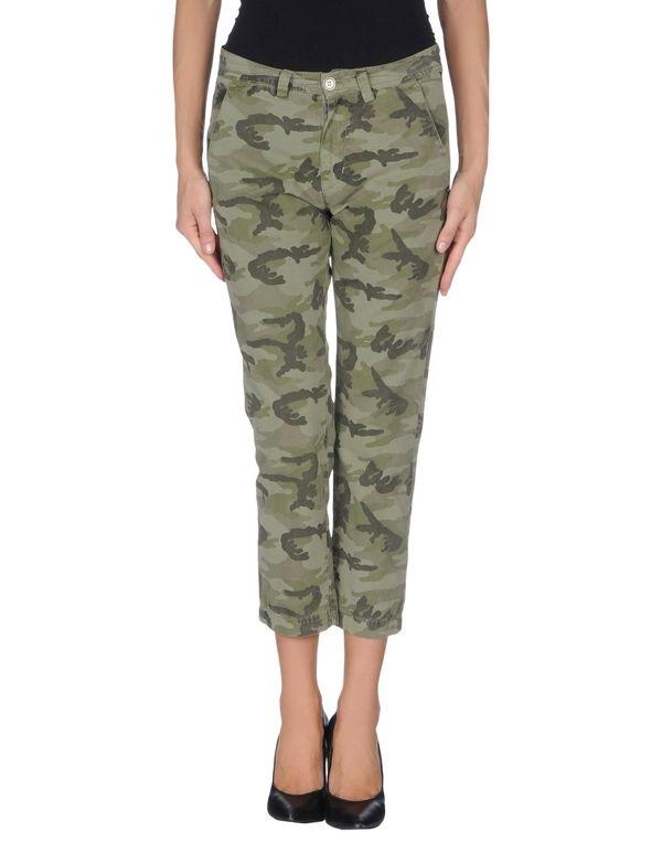 军绿色 40WEFT 七分裤