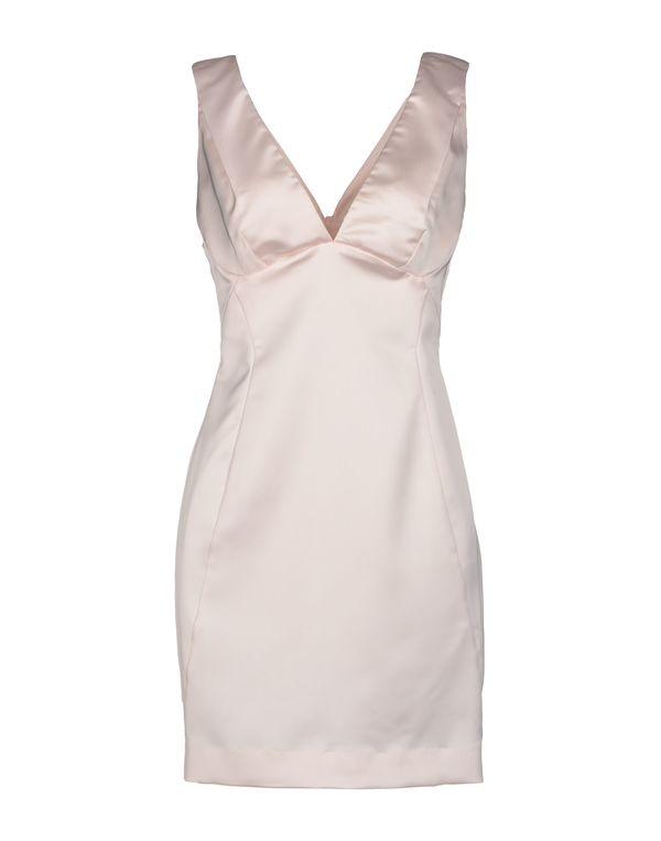 浅粉色 JUST CAVALLI 短款连衣裙