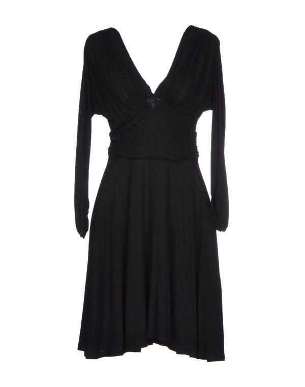 黑色 TWIN-SET SIMONA BARBIERI 及膝连衣裙