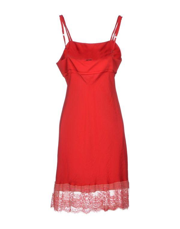 砖红 TWIN-SET SIMONA BARBIERI 及膝连衣裙