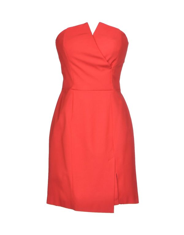 珊瑚红 PINKO 短款连衣裙