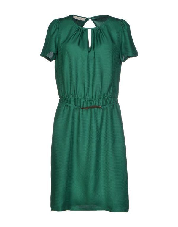 绿色 SESSUN 及膝连衣裙