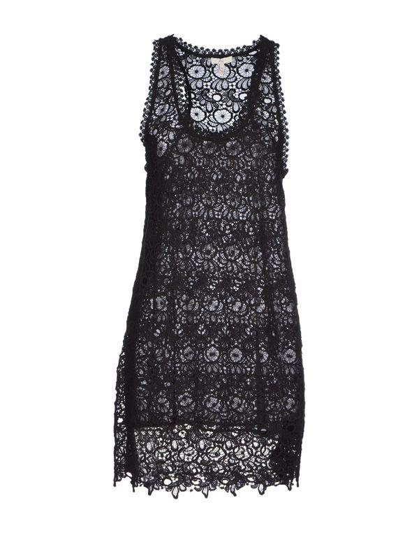 黑色 JOIE 短款连衣裙