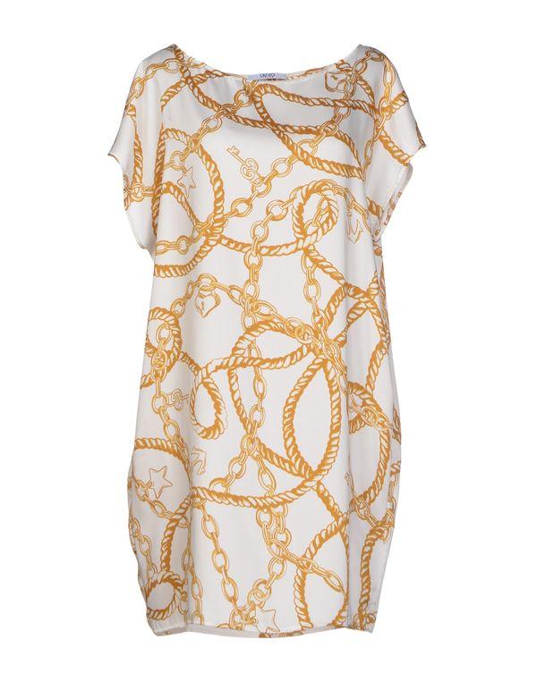 白色 LIU •JO JEANS 短款连衣裙