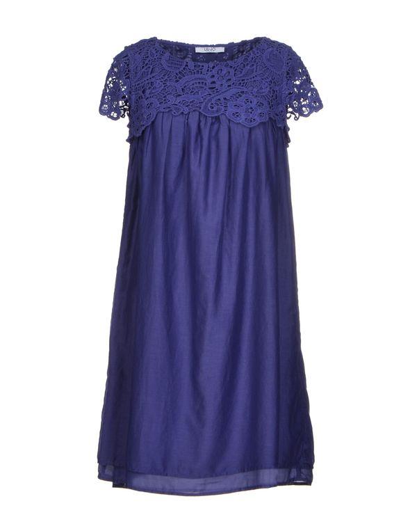 紫色 LIU •JO JEANS 短款连衣裙