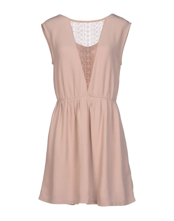裸色 SESSUN 短款连衣裙