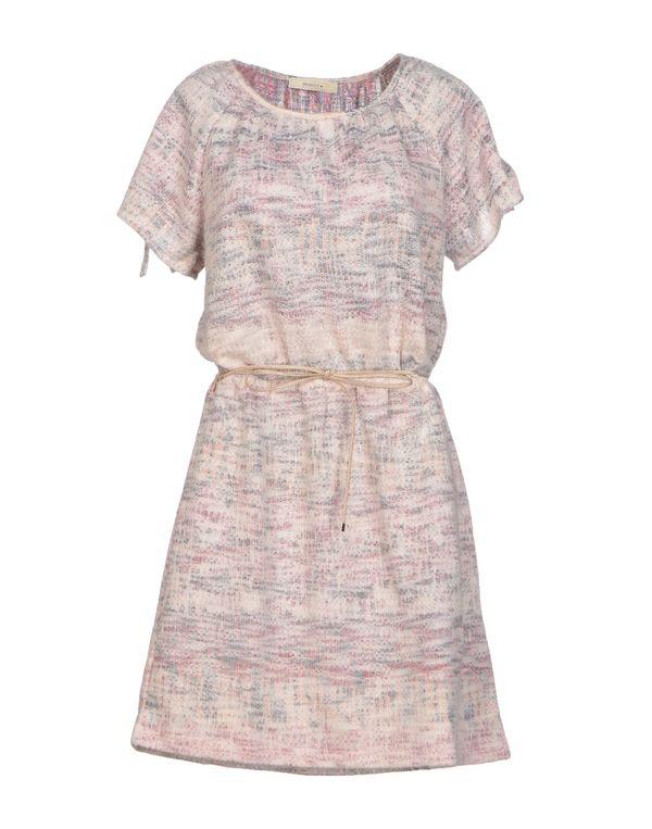 浅粉色 SESSUN 短款连衣裙