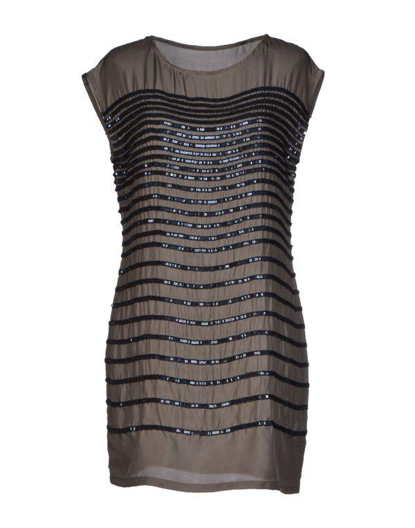 深棕色 HOSS INTROPIA 短款连衣裙