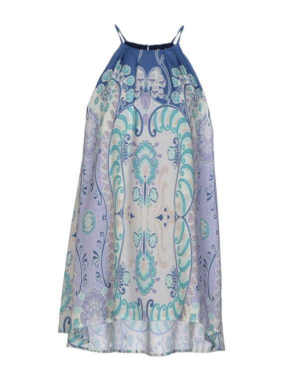 丁香紫 ATELIER FIXDESIGN 短款连衣裙