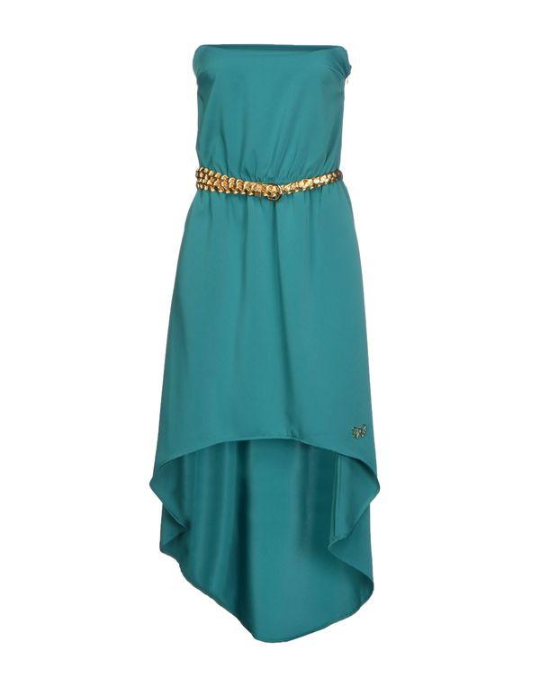 绿色 ATELIER FIXDESIGN 短款连衣裙