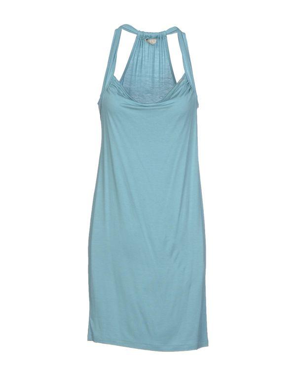 天蓝 GUESS 短款连衣裙