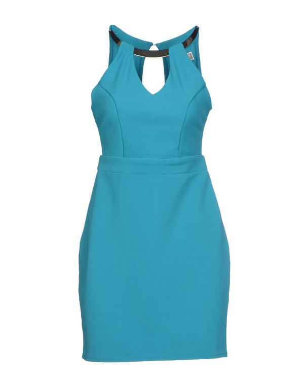 蓝绿色 LIPSY 短款连衣裙