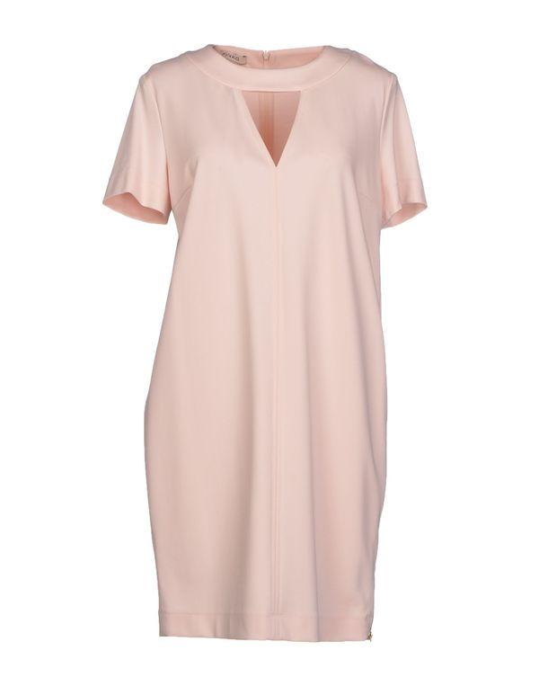 粉红色 PINKO 短款连衣裙