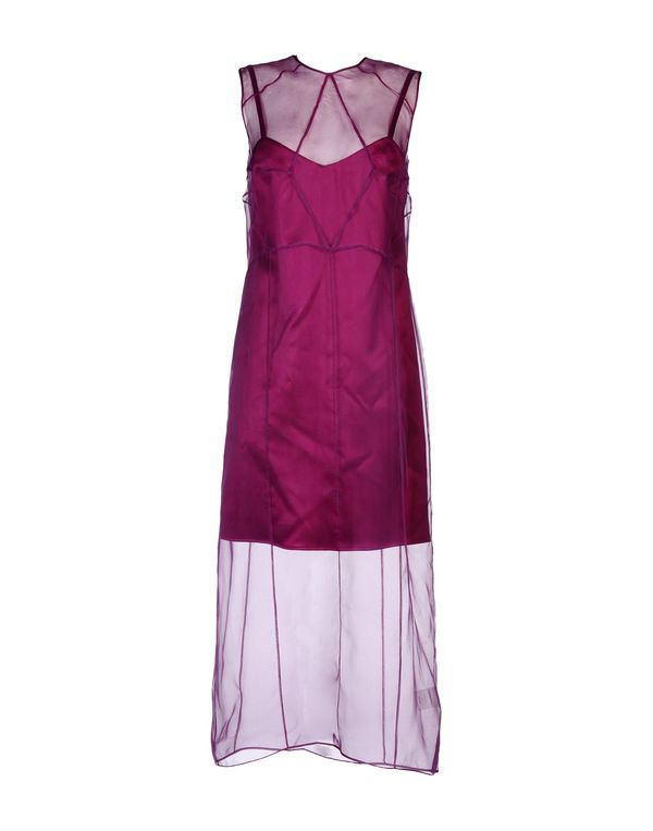 紫色 BARBARA CASASOLA 长款连衣裙