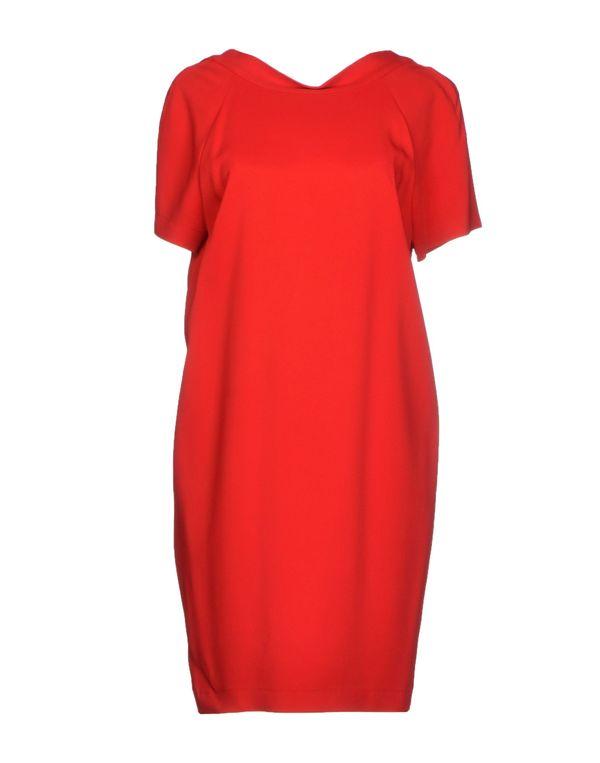 红色 SPACE STYLE CONCEPT 短款连衣裙