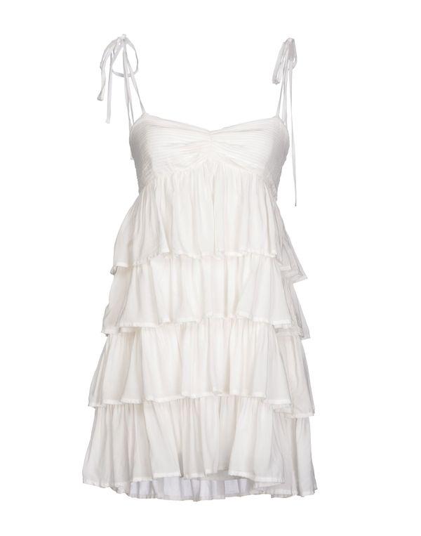 白色 ATELIER FIXDESIGN 短款连衣裙