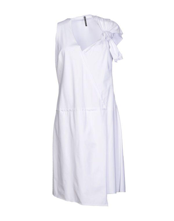 白色 LIVIANA CONTI 短款连衣裙