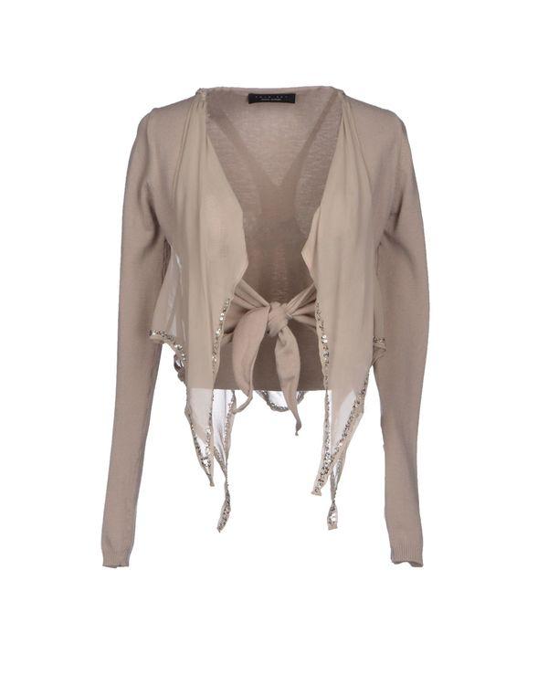 淡灰色 TWIN-SET SIMONA BARBIERI 短套衫