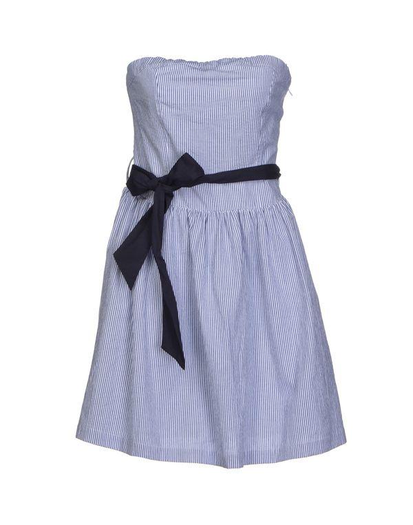 蓝色 DUCK FARM 短款连衣裙