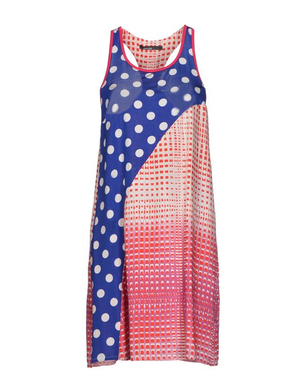 红色 PIANURASTUDIO 短款连衣裙