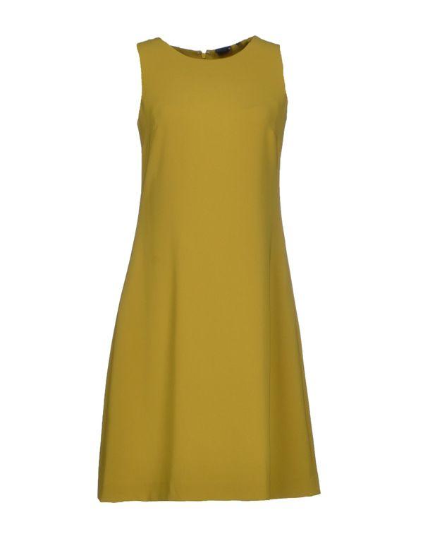荧光绿 ASPESI 短款连衣裙