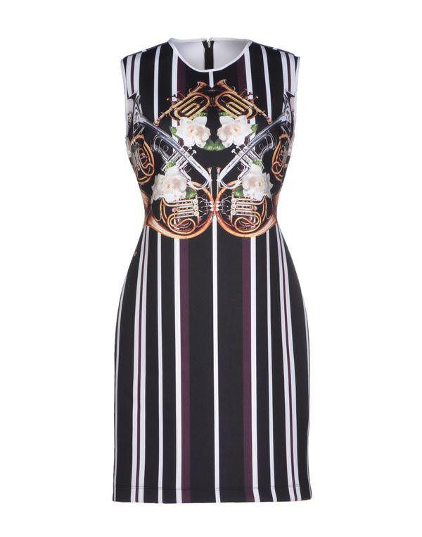 黑色 CLOVER CANYON 短款连衣裙