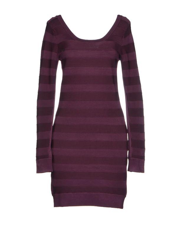 深紫色 FRENCH CONNECTION 短款连衣裙