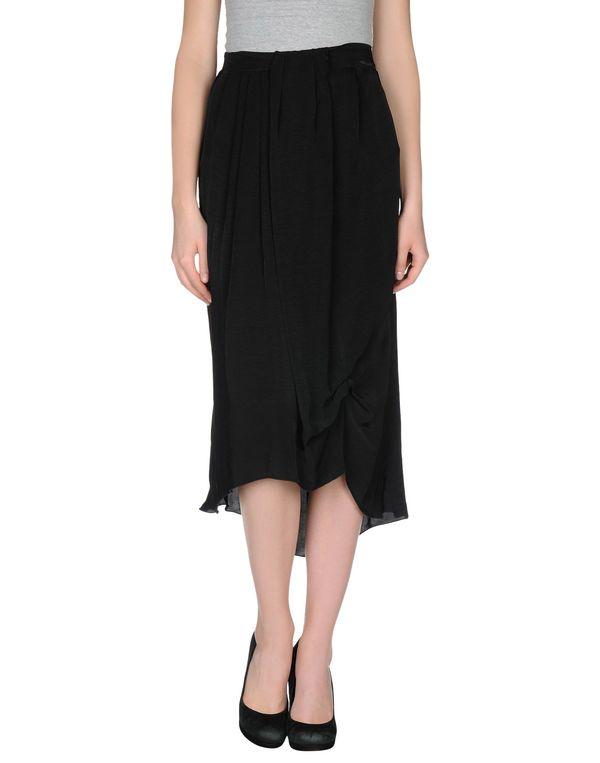 黑色 MANILA GRACE 半长裙