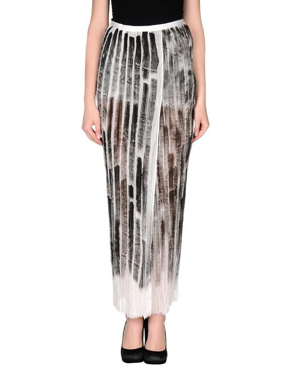 灰色 AVIÙ 长裙