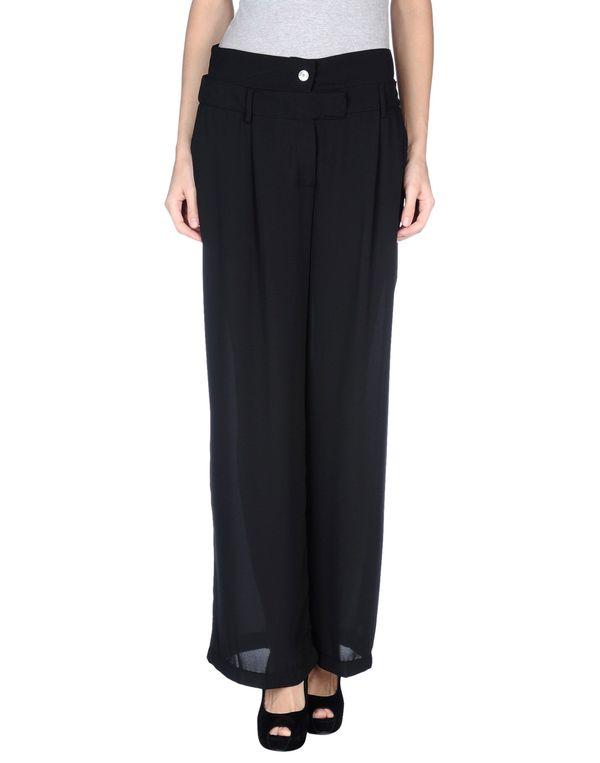 黑色 AVIÙ 裤装
