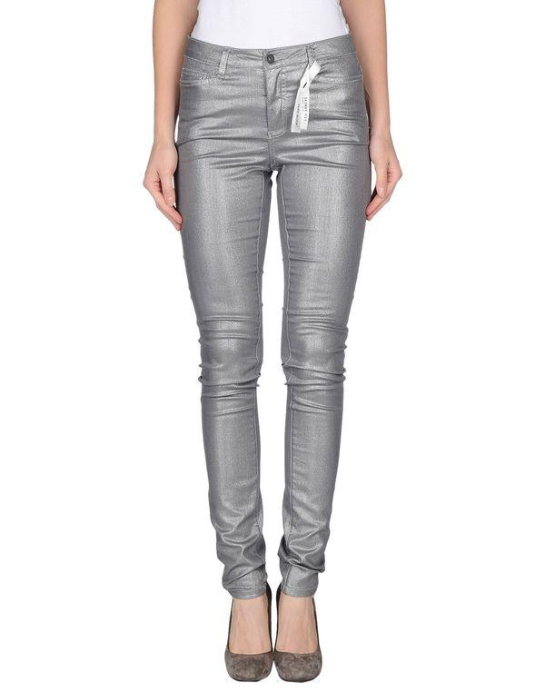 灰色 VERO MODA 牛仔裤