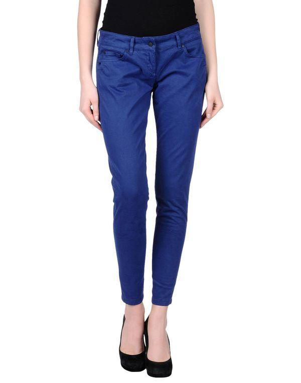 蓝色 DANIELE ALESSANDRINI DENIM 裤装