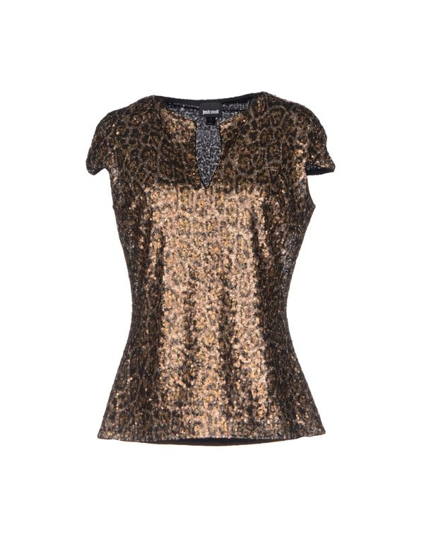 青铜色 JUST CAVALLI T-shirt