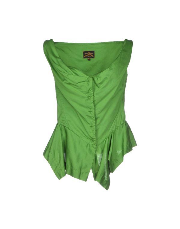 绿色 VIVIENNE WESTWOOD ANGLOMANIA 上衣