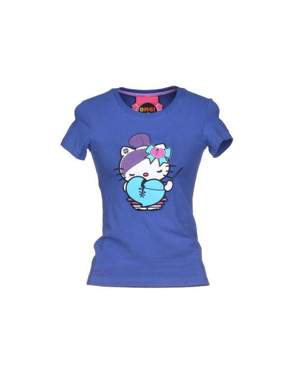 蓝色 ATELIER FIXDESIGN T-shirt