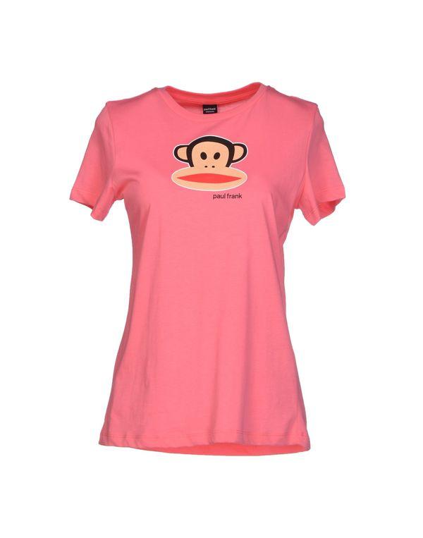 浅紫色 PAUL FRANK T-shirt