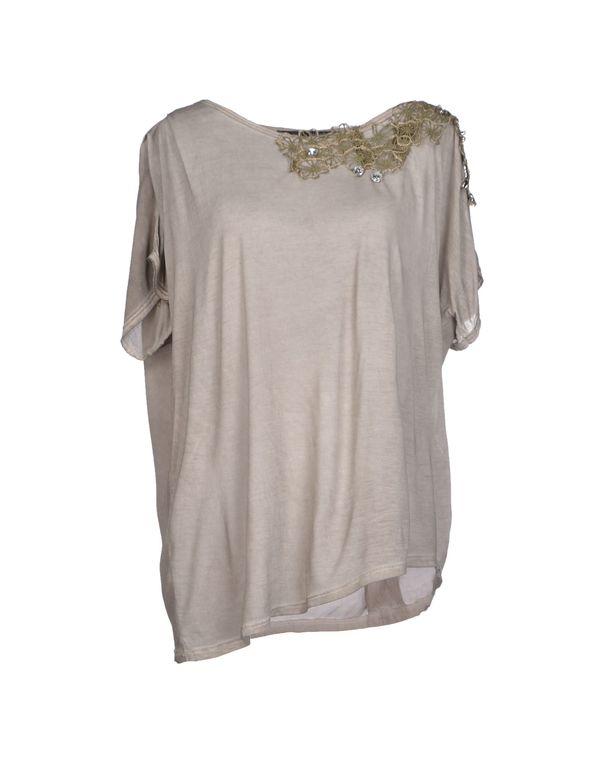 淡灰色 ANNARITA N. T-shirt