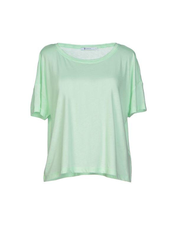 浅绿色 T BY ALEXANDER WANG T-shirt