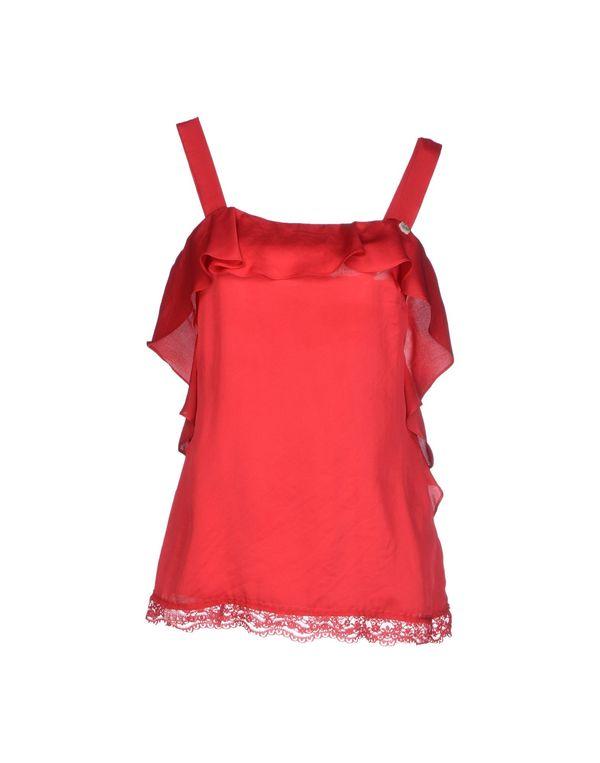 红色 LIU •JO JEANS 上衣
