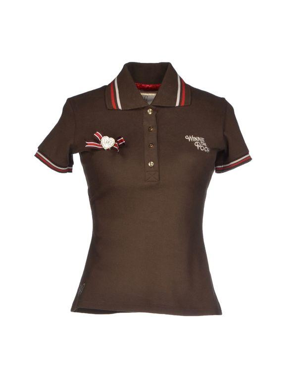 深棕色 ATELIER FIXDESIGN Polo衫