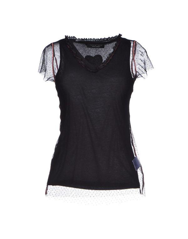 黑色 TWIN-SET SIMONA BARBIERI T-shirt