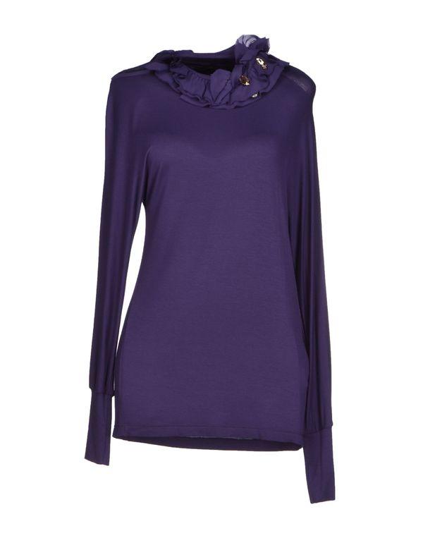 紫色 ANNARITA N. T-shirt
