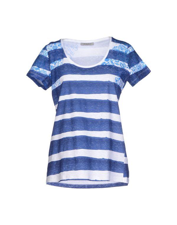 蓝色 PINKO GREY T-shirt