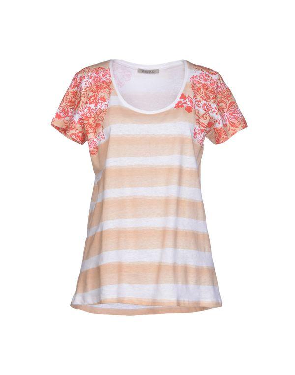 米色 PINKO GREY T-shirt