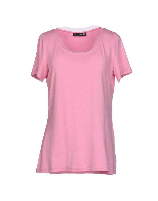 粉红色 LIU •JO T-shirt
