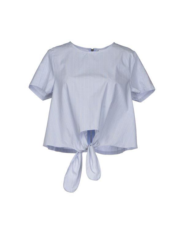 天蓝 VERO MODA 女士衬衫